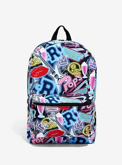 Riverdale Pop s Chock Lit Shoppe Print Backpack Hot Topic  ExclusiveRiverdale Pop s Chock Lit Shoppe Print Backpack Hot Topic  Exclusive 1fa0f896ed68