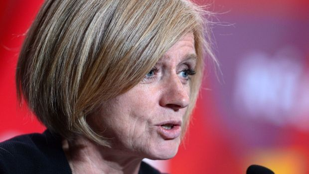 Alberta Premier Rachel Notley says if an alternative sex-ed curriculum now being crafted by Catholic school officials arrives as previously advertised, it will never be taught.