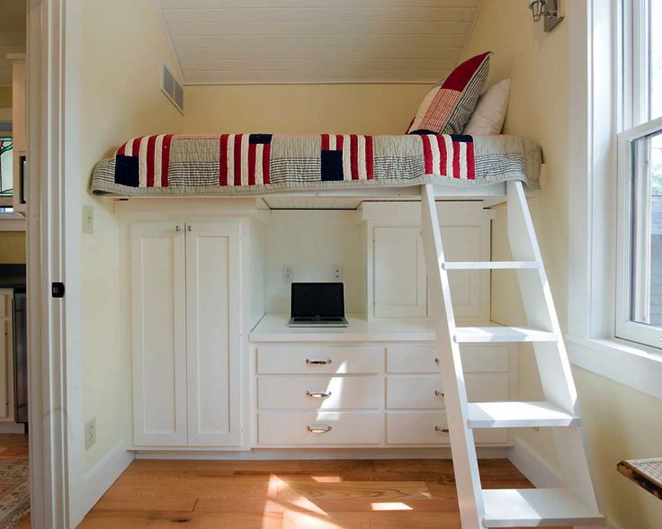 Beds For Small Spaces Part - 19: 46 Amazing Tiny Bedrooms Youu0027ll Dream Of Sleeping In