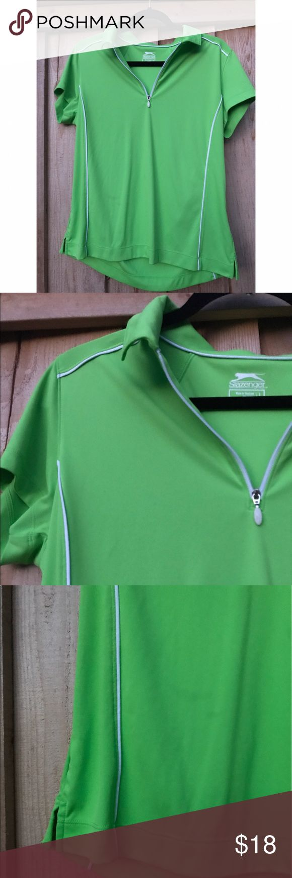 Slazenger like green women's golf polo This green zip up polo is great for any day on the golf course. With the dri-fit material you will be sure to stay cool in any condition. slazenger Other