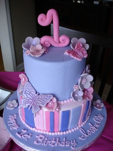Butterfly Birthday Cakes For Kids
