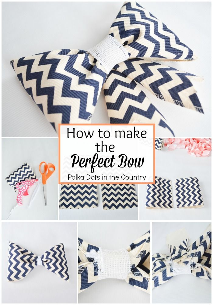 Easter Bow Tutorial | How to Make the Perfect Bow