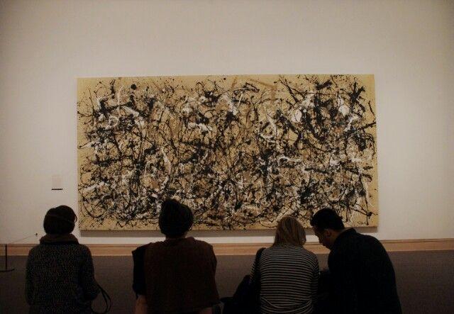 Jackson Pollock Metropolitan Museum in NY