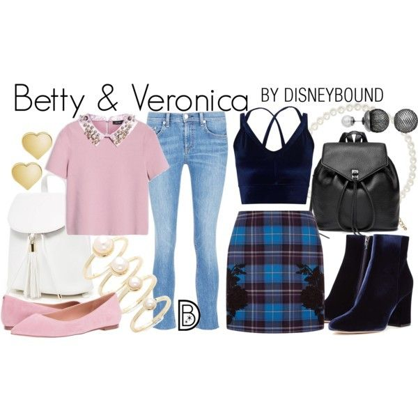 Disney Bound Betty Veronica Riverdale The Archie Comics Riverdale Fashion Betty Cooper Outfits Betty And Veronica Costumes