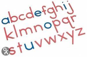 Grote houten letters