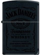 Jack Daniels Black On Black Matt cheap zippo lighter for sale