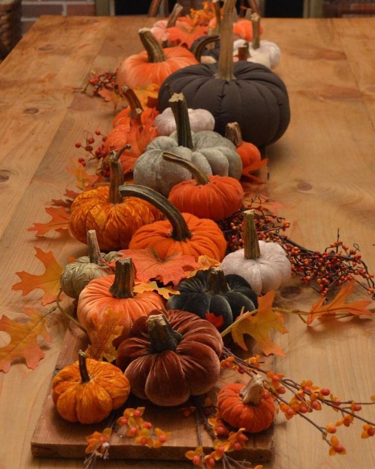 """Terri Larson (@plum_street) on Instagram: """"Fabric pumpkins headed for @primfolkfest in Des Moines"""""""