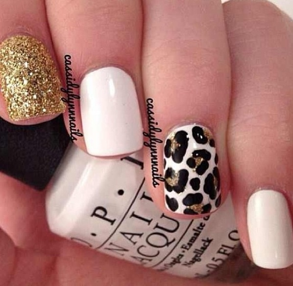 Cheetah Print Nails ❤