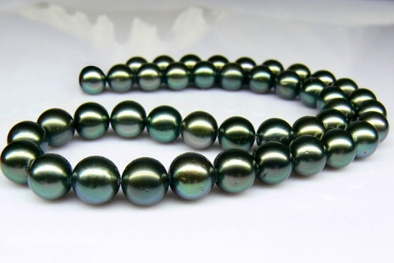 Tahitian Black Pearls ❤