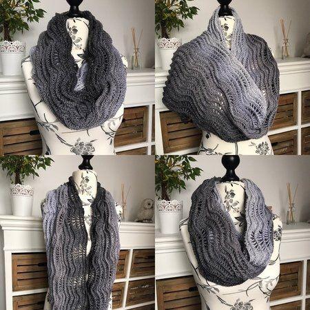 Häkelanleitung Loop Wolkenbruch Häkeln Pinterest Crochet