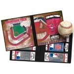 #Cleveland #Indians #Ticket #Album   One day at the ballpark can provide a lifetime of memories. And the ticket that opened the door, your actual game ticket, can help capture those memories forever. So whether you have a large ticket collection or you're just starting out, a Ticket Album is the perfect item to store, display, and protect your memories.