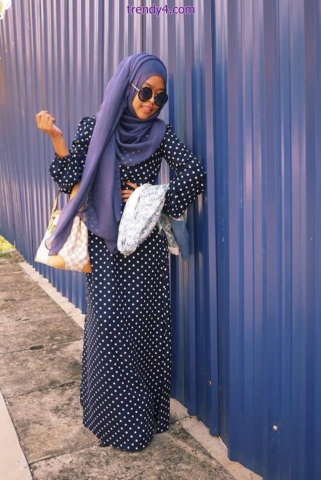 Latest Islamic Hijab Style for 2014 #hijab#muslimah fashion