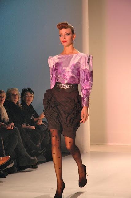 Samuel Dong, Montreal Fashion Week F/W 2012