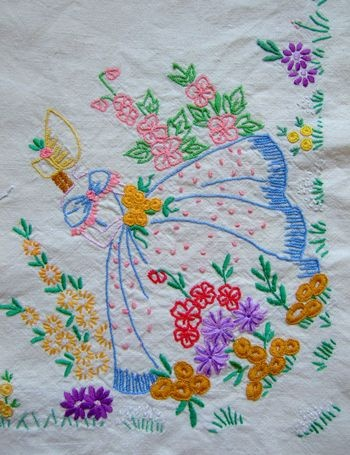 embroidered southern belle