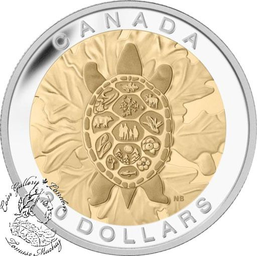 Canada: 2014 $20 The Seven Sacred Teachings: Truth Gold Plated Silver Coin - Coin Gallery London Store