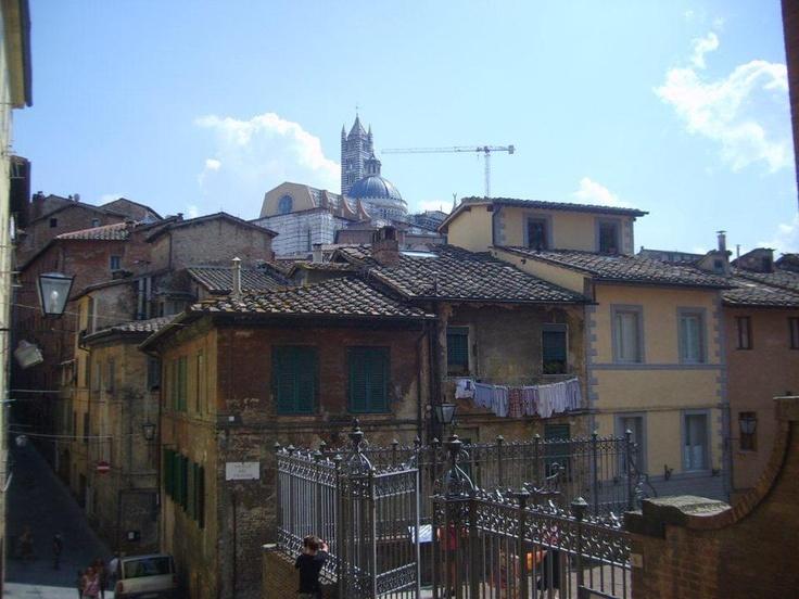 Floransada başlayan rönesans bütün italyayı kasıp kavuruyodu. Siena'da hakim olan gotik stil buna yenik düştü. Ekonomi olarak da zayıf olan ve kendini yapılandırmaya çalışan şehir, sanata ayıracak para ve zaman bulamadı... Daha fazla bilgi fotoğraf için; http://www.geziyorum.net/siena/