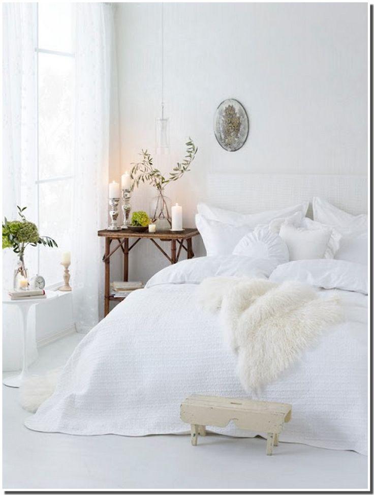 Les 25 meilleures id es de la cat gorie chambre blanche for Chambres a coucher blanches