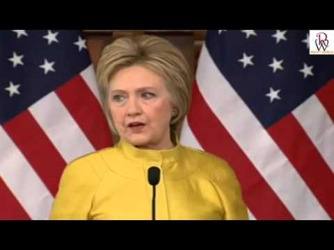Hillary Clinton Speaks on World Events at Stamford (3-23-16)