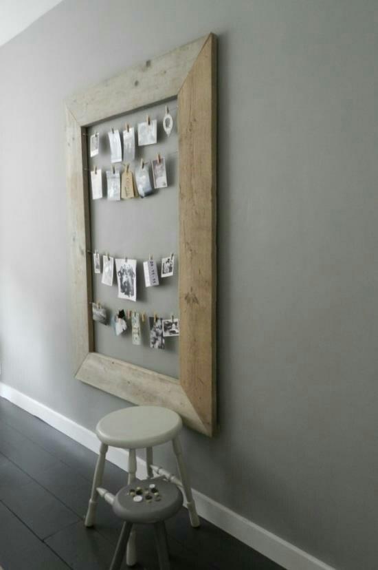Mooie lijst gemaakt van stijgerhout voor foto's en kaarten!