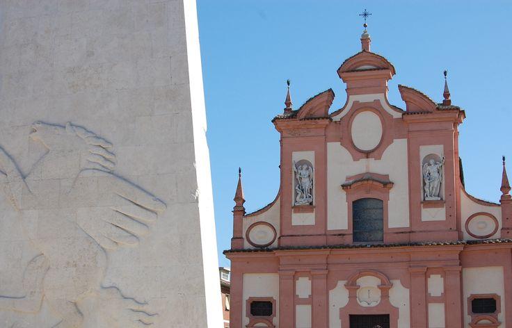 Chiesa del Suffragio e ala di Baracca #Lugo di #Romagna (foto Archivio Turismo)
