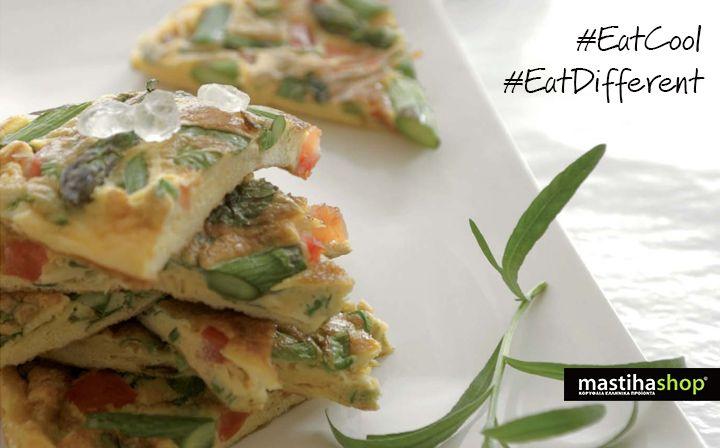 #brunch #ideas #frittata with #mastiha #recipe