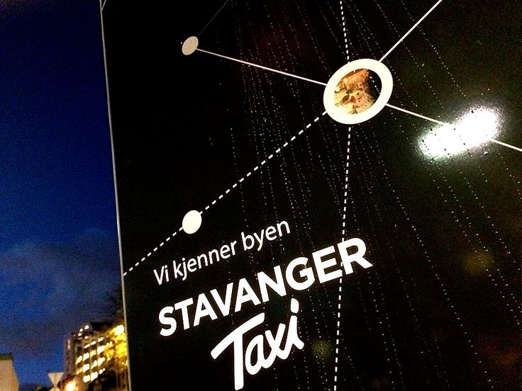 At one of the city's biggest taxi ranks, we have designed what will become part of Stavanger Taxi's new profile in the anniversary year of 2015.