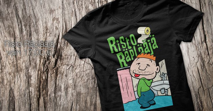 Risto Räplääjä t-paita. Osta verkkokaupasta 17€
