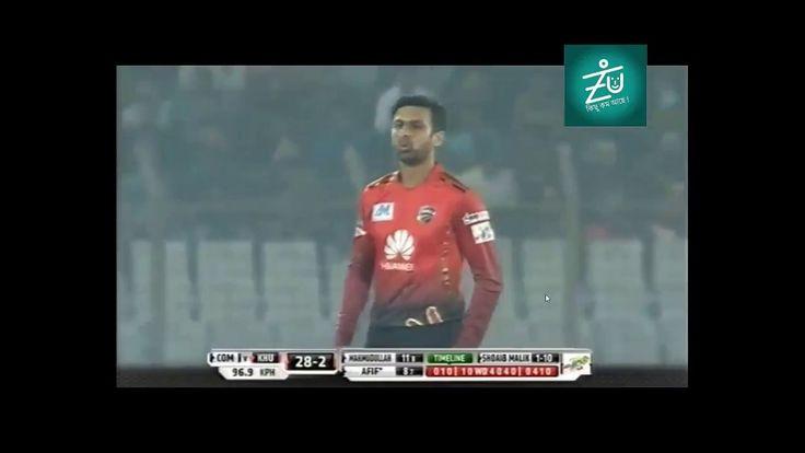 Shoaib Malik's Superb Bowling & 3 Wickets vs Khulna Titans
