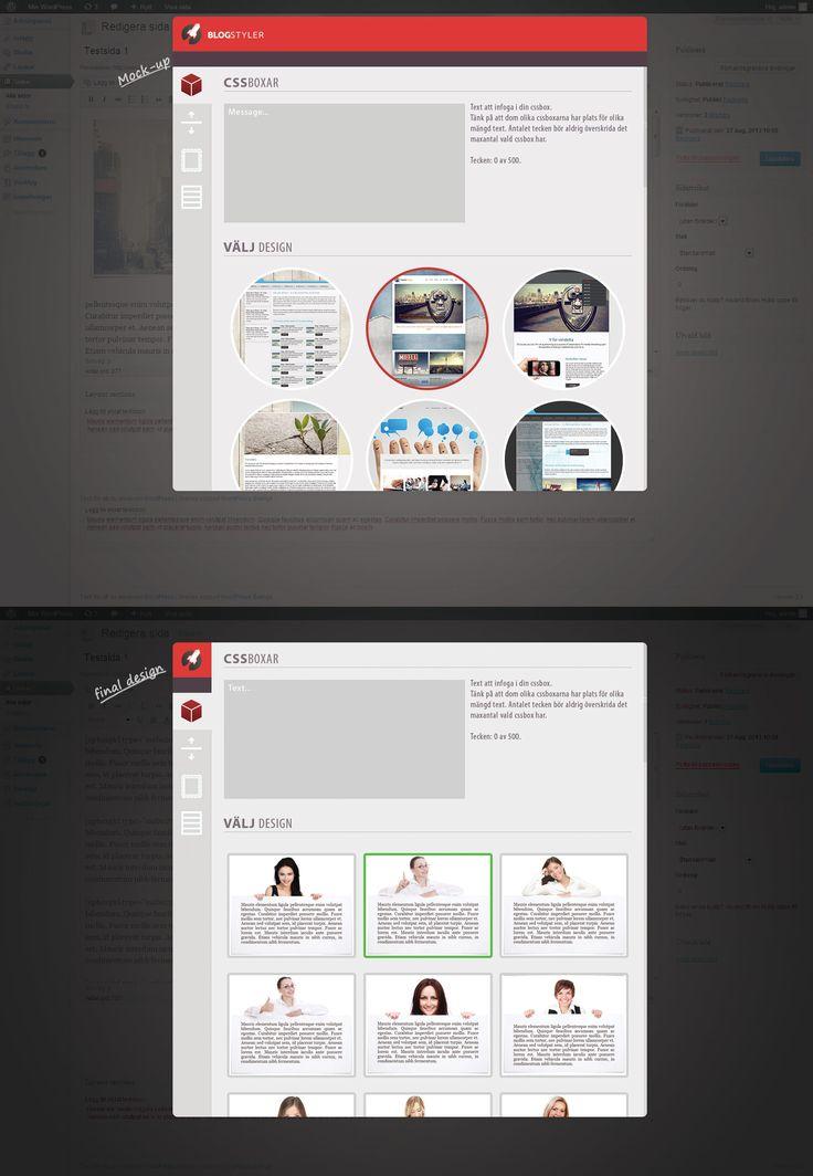 WordPress plugin design. - Desajner.se