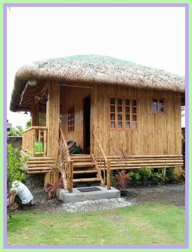 Bahay Kubo Design in Philippines🇵🇭/Bamboo House Worth of