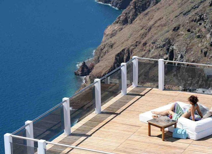 Enjoy our view!!! @ Rocabella deluxe suites & spa Santorini !!!