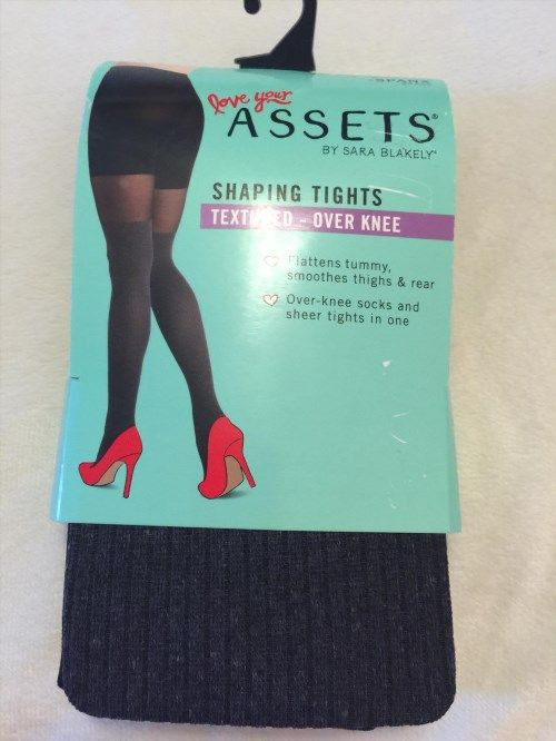 19.70$  Watch now - http://vivow.justgood.pw/vig/item.php?t=7gpb9ob19876 - ASSETS Red Hot Label by SPANX Over-The-Knee Tights FH2815 Gray Sz 2 New