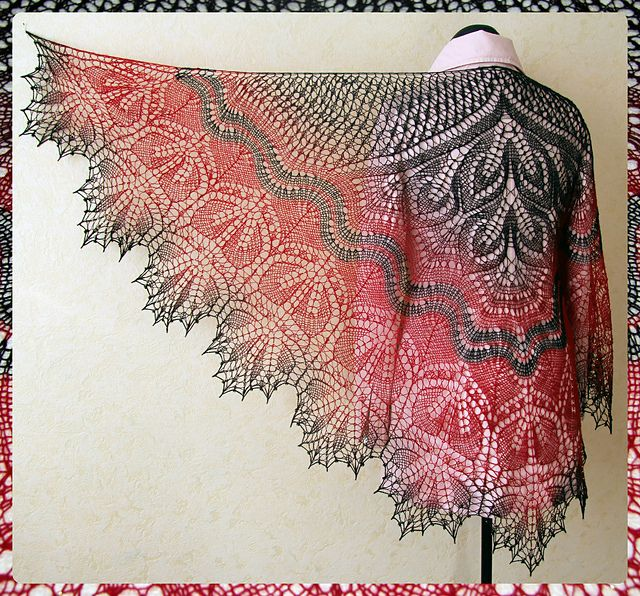 Alberta Shawl by Anne-Lise Maigaard, knitting pattern