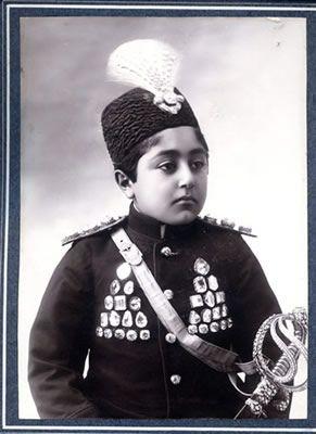 Ahmad Shah. He is the last king of Persia( Iran) during Qajar Era.