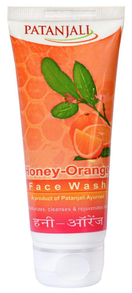 FACE WASH HONEY-ORANGE HERBAL AYURVEDIC 60g PATANJALI   #patanjali
