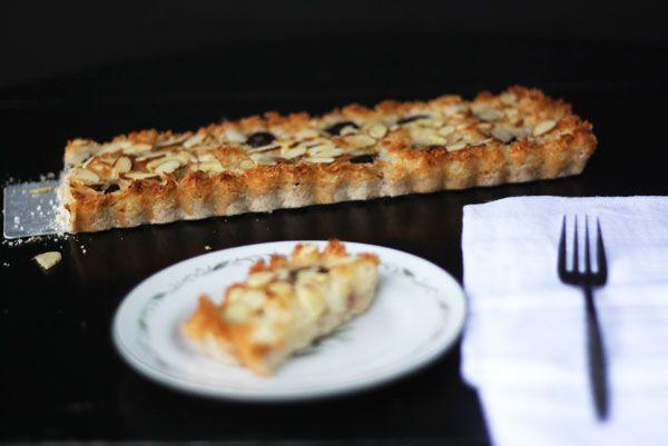 summer cherry macaroon tart | Pastries ~ Pies ~Tarts ~ Cobblers ~ Cri ...