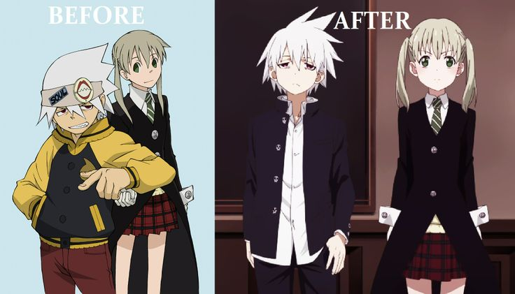 before and after the series.  See how much they have developed?