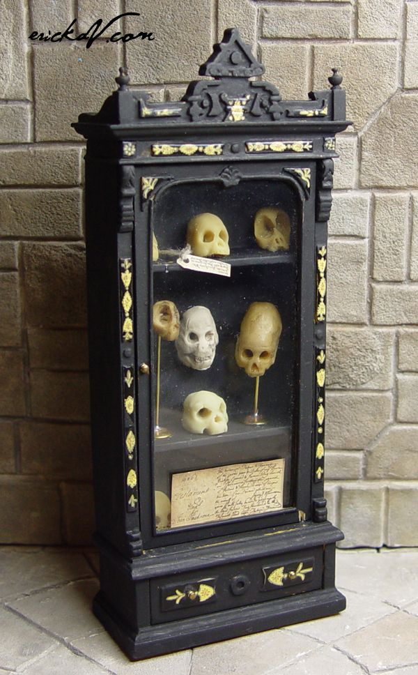Halloween Miniaturen.Miniature Curiosities And Specimens Morbid Toys Pinterest