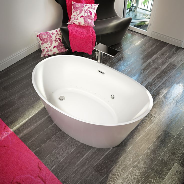 EvanescenceR 5936 Freestanding Air Jet Tubs Make The Perfect Centerpiece Of Your Own Private Luxury Spa Bathroom These Baths Deliver Thermo Massage And