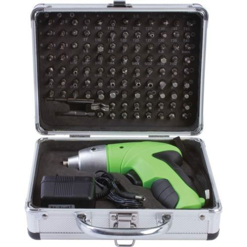 Brand New Cordless Screwdriver Set 104pc by Mitaki-Japan Nice Gift To Give