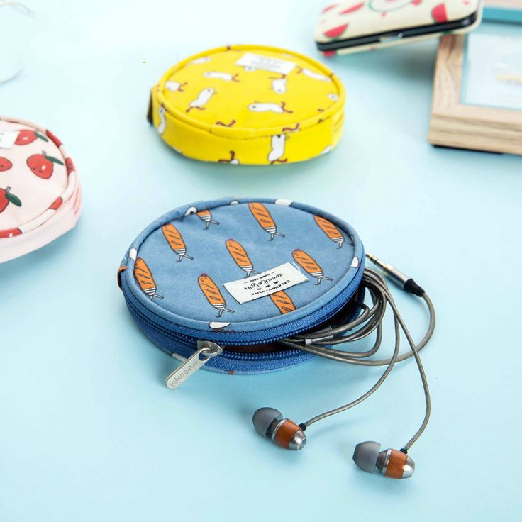 Encontrar Más Bastidores y Soportes Información acerca de Waterproof  PU leather Zipper Protective Headphone case Pouch Earphone Storage bag Headset Earbuds box Usb organizador cables, alta calidad usb organizador, China organizador de escritorio Proveedores, barato usb cerveza de gift ideas store  en Aliexpress.com