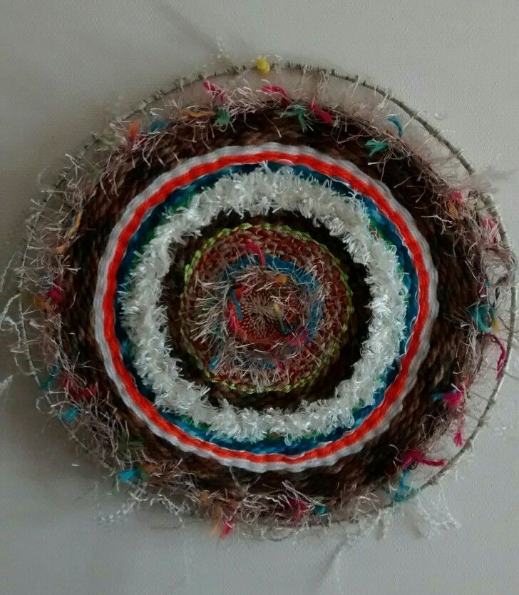 Mandala weaving by ArteLibelula©