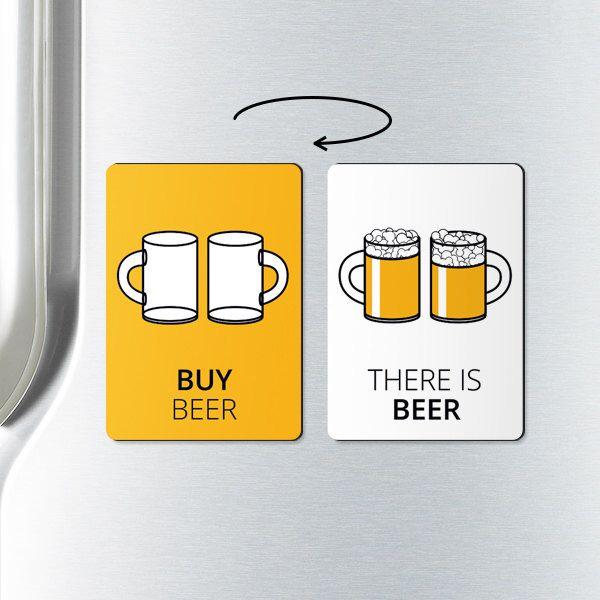 Beer magnet - BUY BEER - unique gift, beer, fridge magnets, refrigerator magnet, funny fridge magnets, alcohol gifts, beer lover gift by ReminderMagnet on Etsy https://www.etsy.com/listing/220111169/beer-magnet-buy-beer-unique-gift-beer