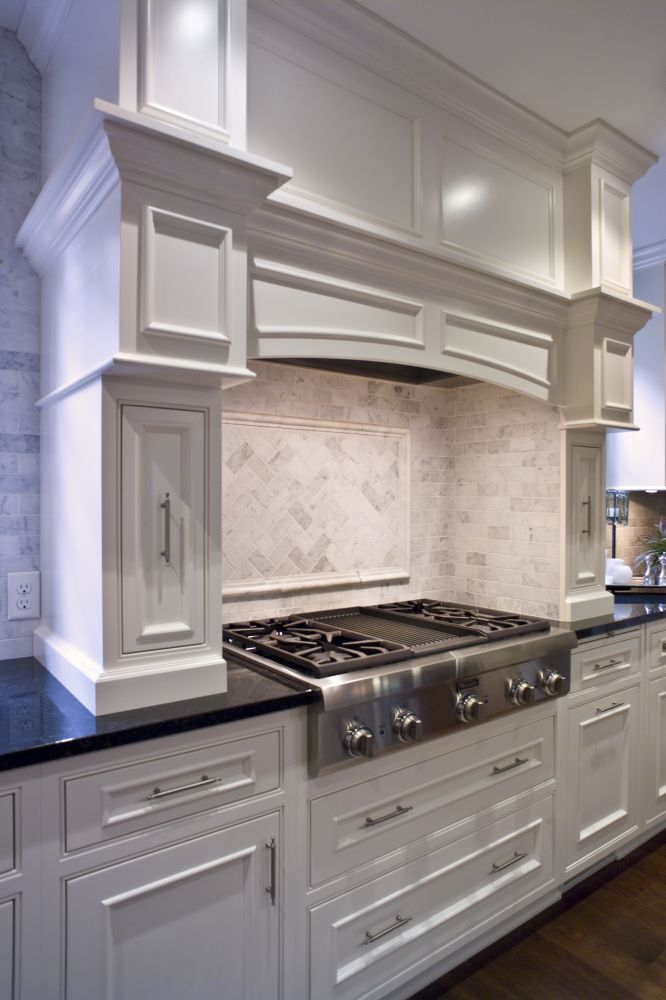 kitchen hood cabinet crown molding cabinets cabinetry kitchen custom 21746