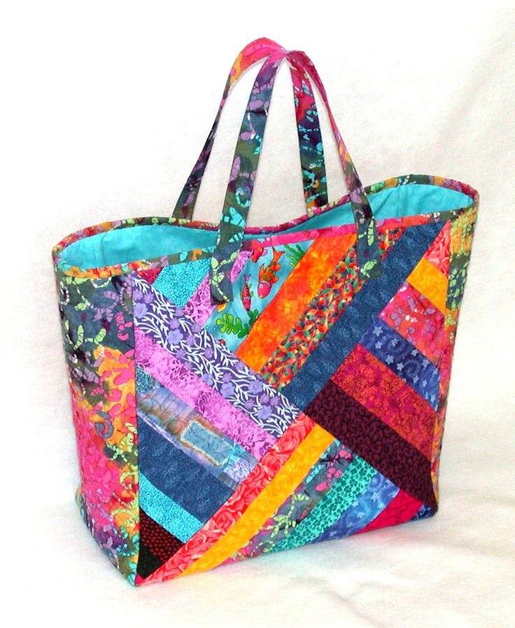 Quilting Patterns For Bags : 4315 best Fiber and Fabric images on Pinterest Quilt blocks, Paper pieced quilts and Quilt art