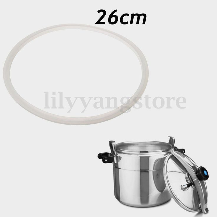 White Silicon Rubber Pressure Cooker Part Gasket Sealing Ring 26Cm Inside Dia