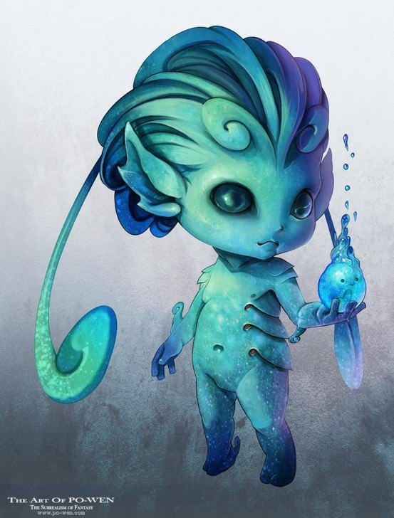 Aquatic Magical beings