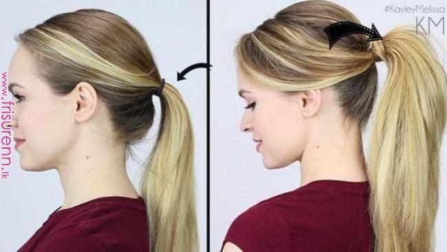 Ob Bei Mittellangen Oder Ganz Langen Haaren Ein Pferdeschwanz Ist Klassisch Locker Stylish Und Immer Frisuren Frisur Vorstellungsgesprach Michelle Frisur