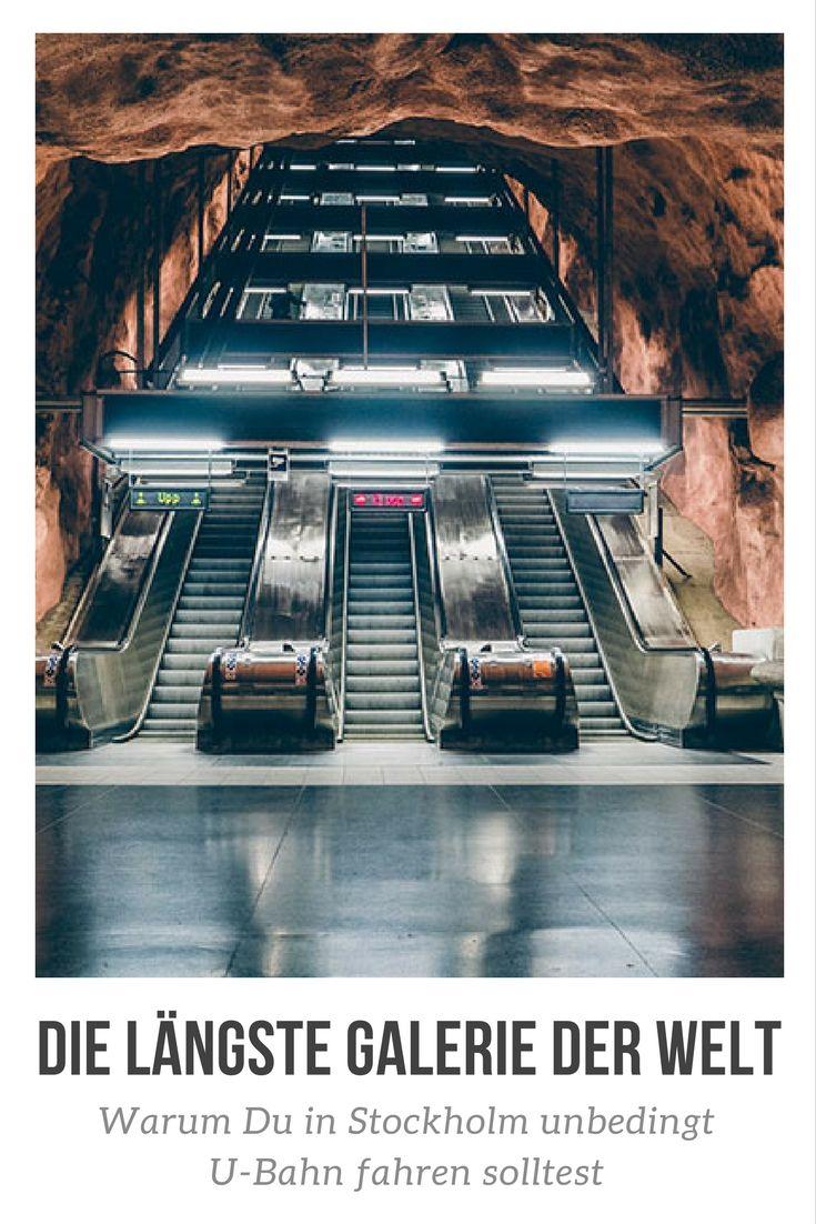 U-Bahn Kunst in Stockholm – Die Tunnelbana