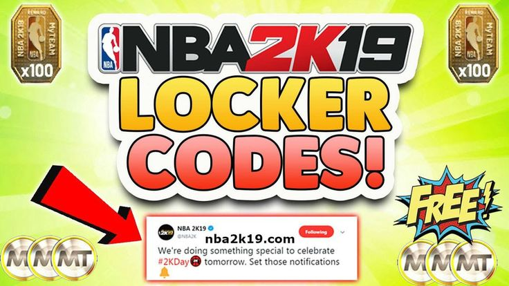 Pin on NBA 2K19 Locker Codes